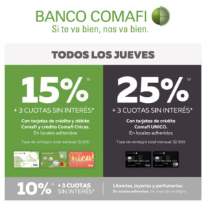 Banco Comafi Recurrente
