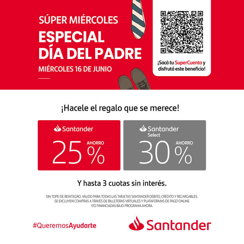 Santander, Súper Miércoles
